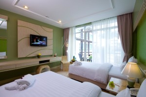 A-Te Chumphon Hotel - Pool Terrace Room
